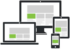 Responsive Websites - websites optimized for smartphones
